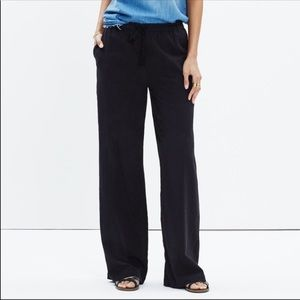 2/$25 SALE Madewell Black Sheer Cover Up Pants